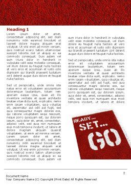Ready To Go Word Template, First Inner Page, 04140, Consulting — PoweredTemplate.com