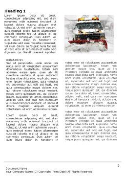 Snowdrift Word Template First Inner Page