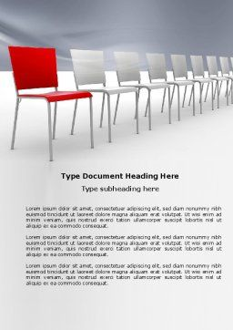 Distinguishing Word Template, Cover Page, 04206, Business Concepts — PoweredTemplate.com