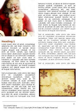Free Santa Claus Word Template, First Inner Page, 04212, Holiday/Special Occasion — PoweredTemplate.com