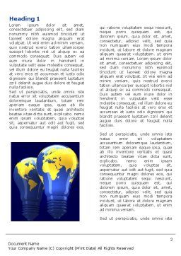 World Energy Word Template First Inner Page