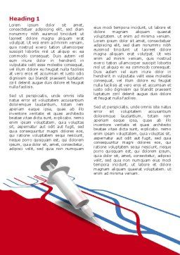 Remedy Injection Word Template, First Inner Page, 04253, Medical — PoweredTemplate.com