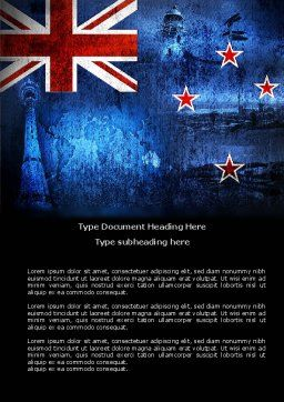 New Zealand Word Template Cover Page