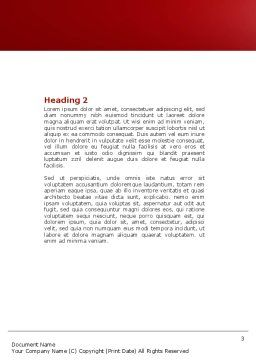 Bait Word Template, Second Inner Page, 04262, Consulting — PoweredTemplate.com