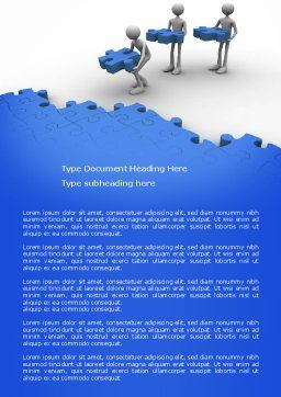 Offshore Development Word Template, Cover Page, 04271, Consulting — PoweredTemplate.com