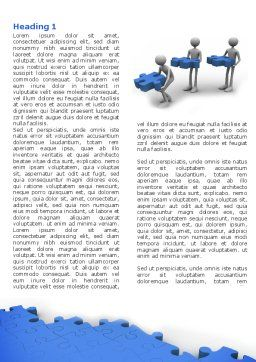 Offshore Development Word Template, First Inner Page, 04271, Consulting — PoweredTemplate.com
