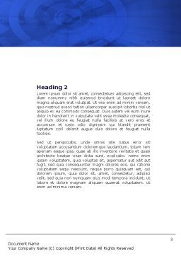 Business Model Word Template, Second Inner Page, 04278, 3D — PoweredTemplate.com
