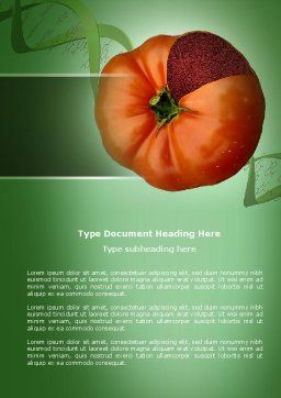 Genetically Modified Foods Word Template Cover Page