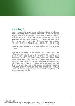 Genetically Modified Foods Word Template Second Inner Page