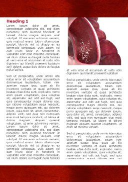 Intestinal Parasites Word Template, First Inner Page, 04294, Medical — PoweredTemplate.com