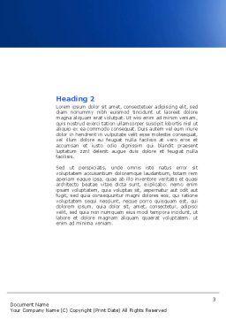 Precision Clockwork Word Template, Second Inner Page, 04297, Construction — PoweredTemplate.com