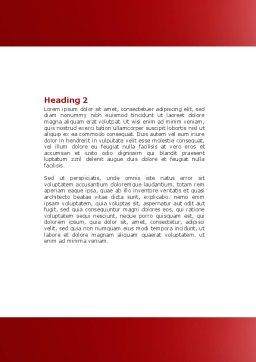 Real Estate In Massive Sale Word Template, Second Inner Page, 04307, Construction — PoweredTemplate.com