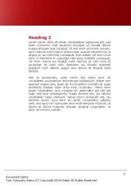 Wireless Phones Word Template, Second Inner Page, 04312, Telecommunication — PoweredTemplate.com