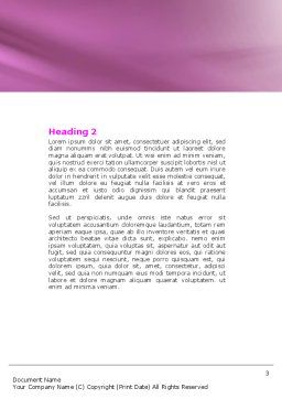 Multicomputer System Word Template, Second Inner Page, 04331, Telecommunication — PoweredTemplate.com