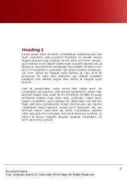 Jigsaw Man Word Template, Second Inner Page, 04332, Business — PoweredTemplate.com