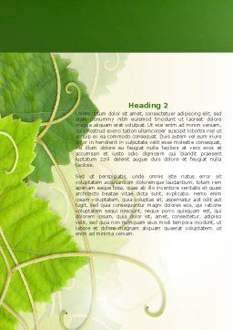 Recycling Technology Word Template Second Inner Page