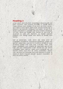 Resistance Word Template, Second Inner Page, 04366, Business Concepts — PoweredTemplate.com