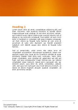 Terminal Word Template, Second Inner Page, 04390, Cars/Transportation — PoweredTemplate.com