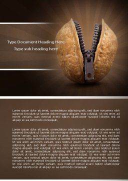 Core Word Template, Cover Page, 04400, Consulting — PoweredTemplate.com