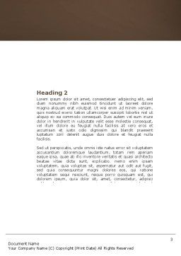 Core Word Template, Second Inner Page, 04400, Consulting — PoweredTemplate.com
