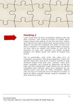 Making a Point Word Template, Second Inner Page, 04404, Business Concepts — PoweredTemplate.com