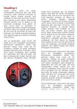 Zen Door Word Template First Inner Page
