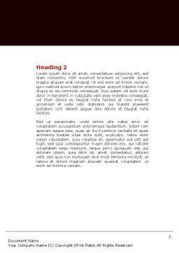 Zen Door Word Template Second Inner Page