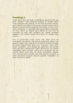 Ecology Building Word Template Second Inner Page