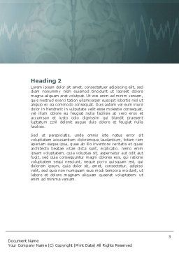 MRI Word Template, Second Inner Page, 04440, Medical — PoweredTemplate.com