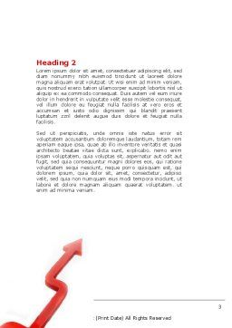 Alternative Routes Word Template, Second Inner Page, 04467, Consulting — PoweredTemplate.com