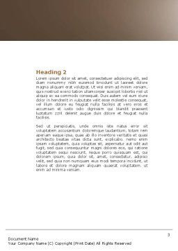 Component Word Template Second Inner Page