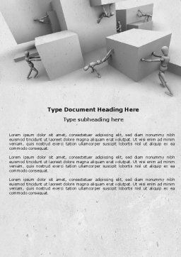 Different Angle Word Template, Cover Page, 04483, Consulting — PoweredTemplate.com