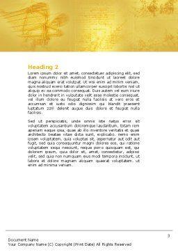 Leonardo Da Vinci Word Template, Second Inner Page, 04517, Education & Training — PoweredTemplate.com