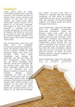 Dwelling Problem Word Template, First Inner Page, 04523, Construction — PoweredTemplate.com