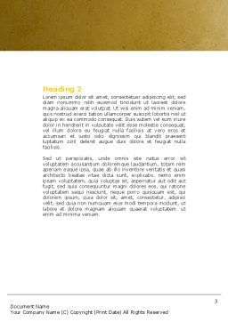Reconstruction Word Template, Second Inner Page, 04537, Construction — PoweredTemplate.com