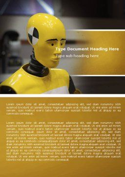 Dummy Word Template, Cover Page, 04542, Careers/Industry — PoweredTemplate.com
