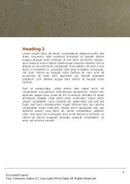 Thoughtful Mind Word Template, Second Inner Page, 04554, Medical — PoweredTemplate.com