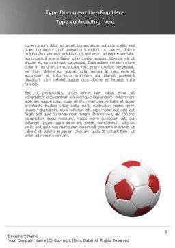 Originality Word Template, Second Inner Page, 04570, Sports — PoweredTemplate.com