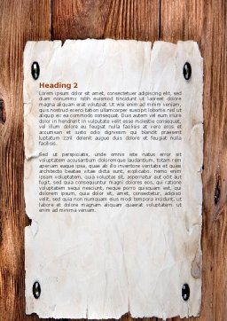 Birth of Christ Word Template, Second Inner Page, 04574, Religious/Spiritual — PoweredTemplate.com