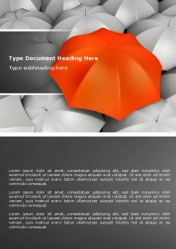 Distinguished Word Template, Cover Page, 04584, Business Concepts — PoweredTemplate.com