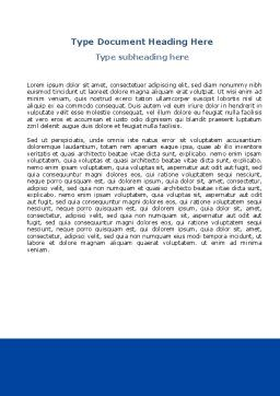 Scalpel Word Template, Second Inner Page, 04589, Medical — PoweredTemplate.com