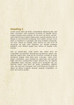 Boxes Word Template, Second Inner Page, 04591, Construction — PoweredTemplate.com