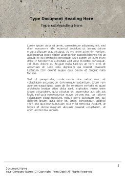 Switch Off Word Template, Second Inner Page, 04595, Consulting — PoweredTemplate.com