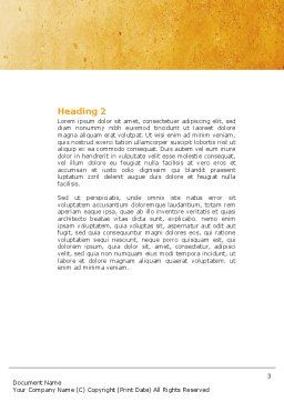 Unanimity Word Template, Second Inner Page, 04601, Consulting — PoweredTemplate.com