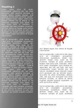 Captain Word Template, First Inner Page, 04615, Business Concepts — PoweredTemplate.com