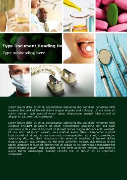 Modern Methods Of Treatment Word Template, Cover Page, 04621, Medical — PoweredTemplate.com