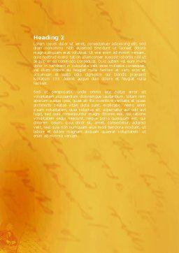 Ralph Waldo Emerson Word Template, Second Inner Page, 04642, Education & Training — PoweredTemplate.com