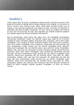 Hostages Word Template, Second Inner Page, 04672, Consulting — PoweredTemplate.com