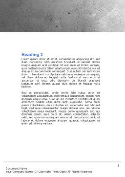 Assembling Word Template, Second Inner Page, 04697, Utilities/Industrial — PoweredTemplate.com
