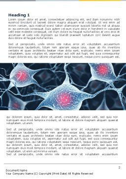 Neurons Word Template First Inner Page